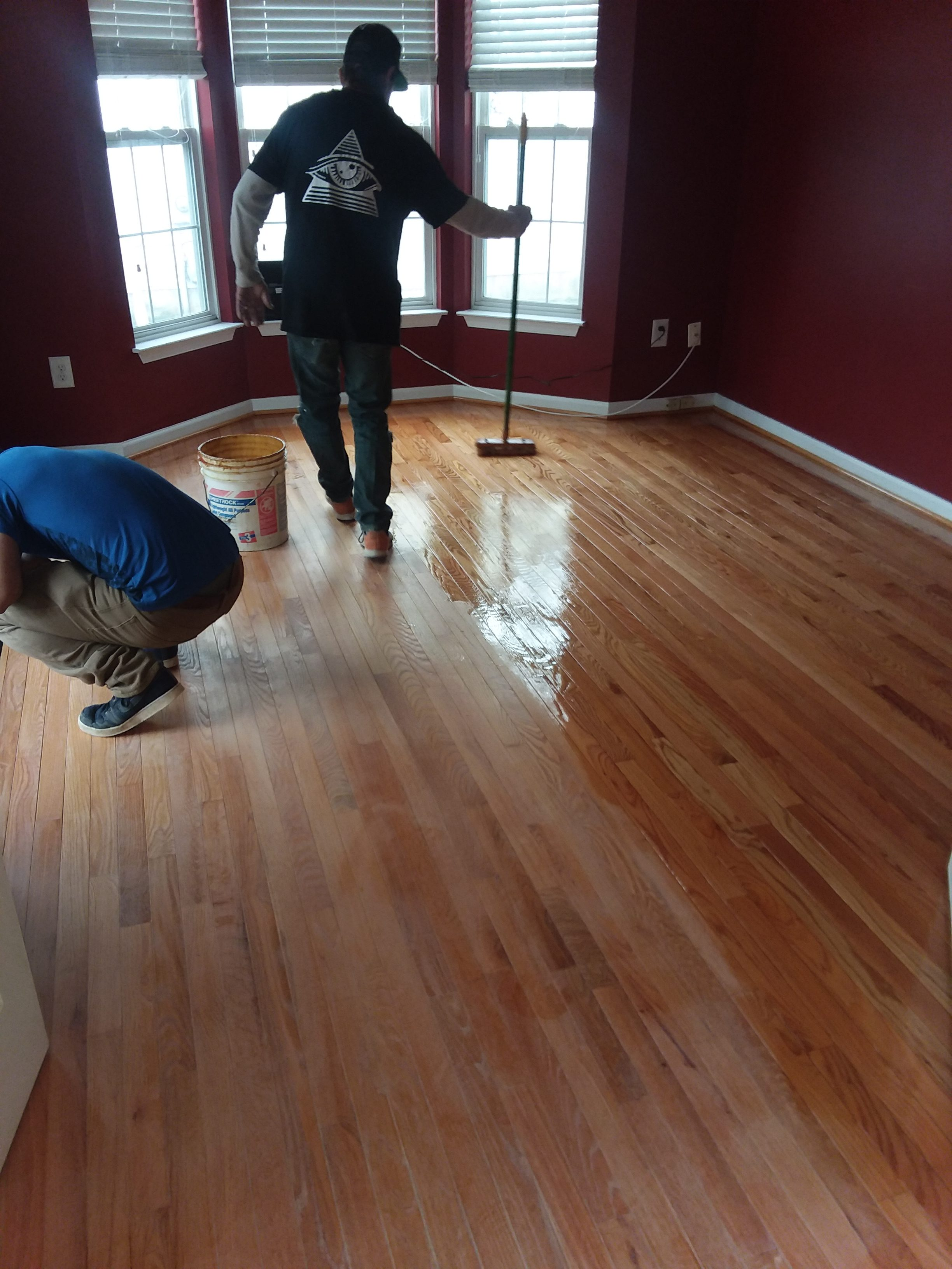 Sanding and re-finishing of hardwood floors near me - Mcgowans